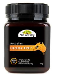 Manuka Honey 100mgo 1kg x 3 Pack Nature's Way