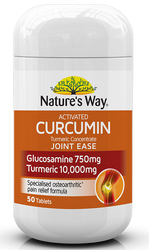 Activated Curcumin Turmeric Concentrate Joint Ease 50 Tabs x 3 Pack Nature's Way