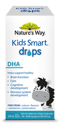 Kids Smart DHA Drops 20ml x 3 Pack Nature's Way