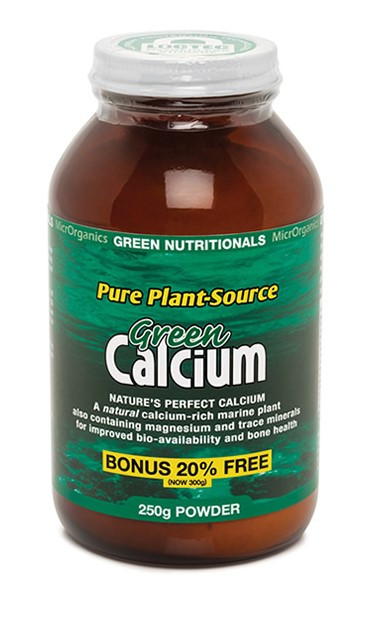 Pure Plant-Source Green Calcium 250g Powder Green Nutritionals
