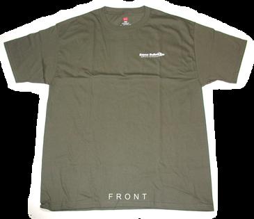 Bayou Bullets Haynes 100% Cotton, Tagless, T-Shirt