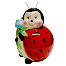 Lady Bug Cookie Jar