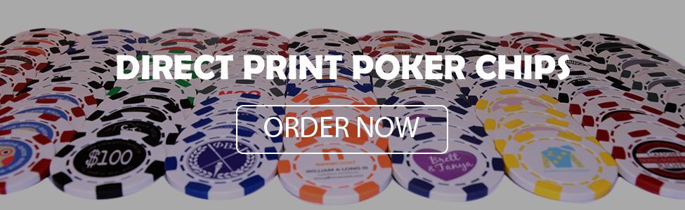 Direct Print Poker Chips