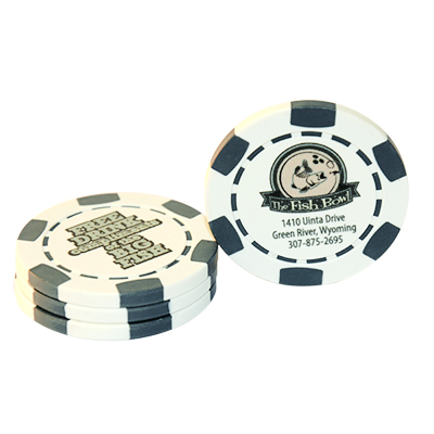 Direct Print Drink Chips, Business Cards