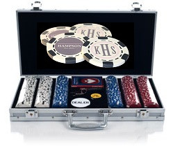 300 Chip Custom Poker Chip Set