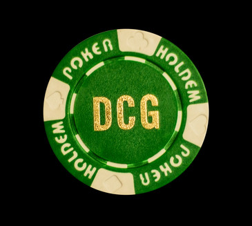 Custom Hot Stamped Suited Hold'em Poker Chips