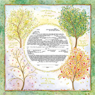 Seasons Of Joy Ketubah (Caspi)