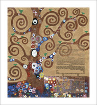 Homage To Klimt: Tree of Life Ketubah