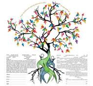 Love Tree Ketubah