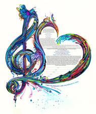 Symphony Of The Heart Ketubah