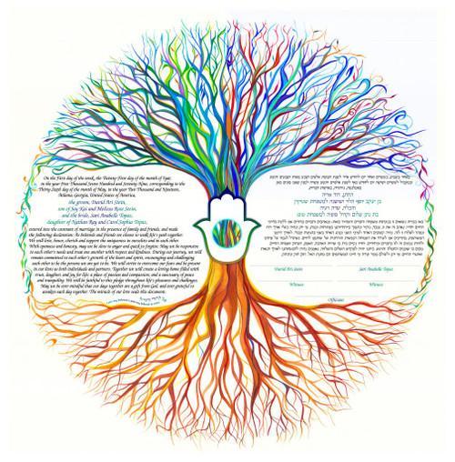 Chamsa~Tree Of Life