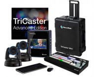 NewTek TriCaster Mini HD-4sdi Advanced with 2 PTZ NDI Cameras Bundle