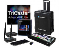 NewTek TriCaster Mini HD-4i Advanced with 2 Connect Spark HDMI Bundle