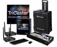 NewTek TriCaster Mini HD-4sdi Advanced with 2 Connect Spark SDI Bundle