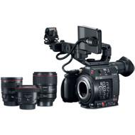 Canon Cinema EOS C200 with Prime Lens Bundle (EF Mount)