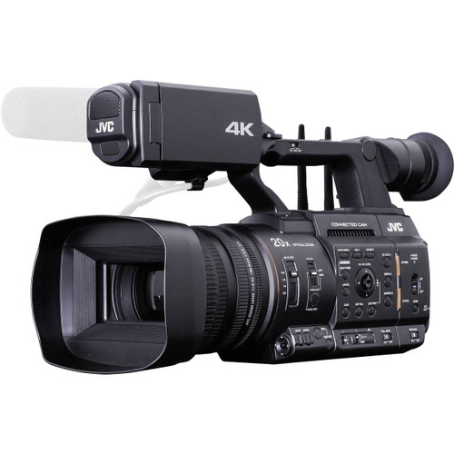 "JVC GY-HC550 Hand-Held Connected Cam 1"" 4K Broadcast Camcorder"