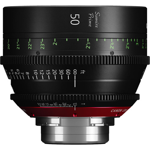 Canon 50mm Sumire Prime T1.3 (PL Mount, Feet)
