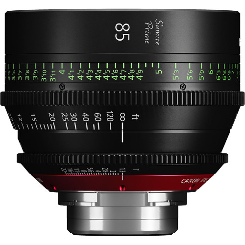 Canon 85mm Sumire Prime T1.3 (PL Mount, Feet)