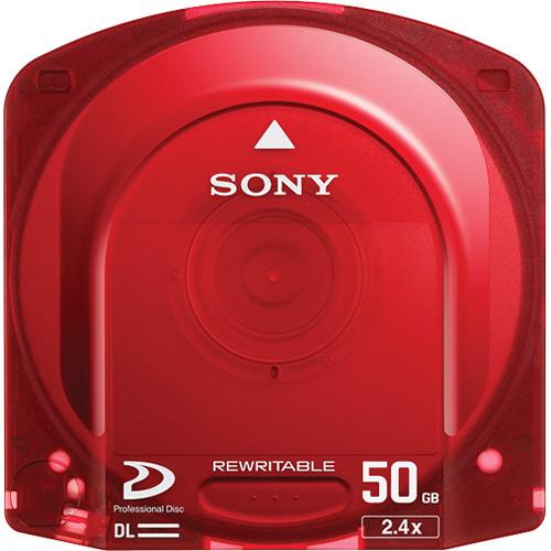 Sony PFD50DLAX Dual Layer 50GB Rewritable Optical Disc for XDCAM