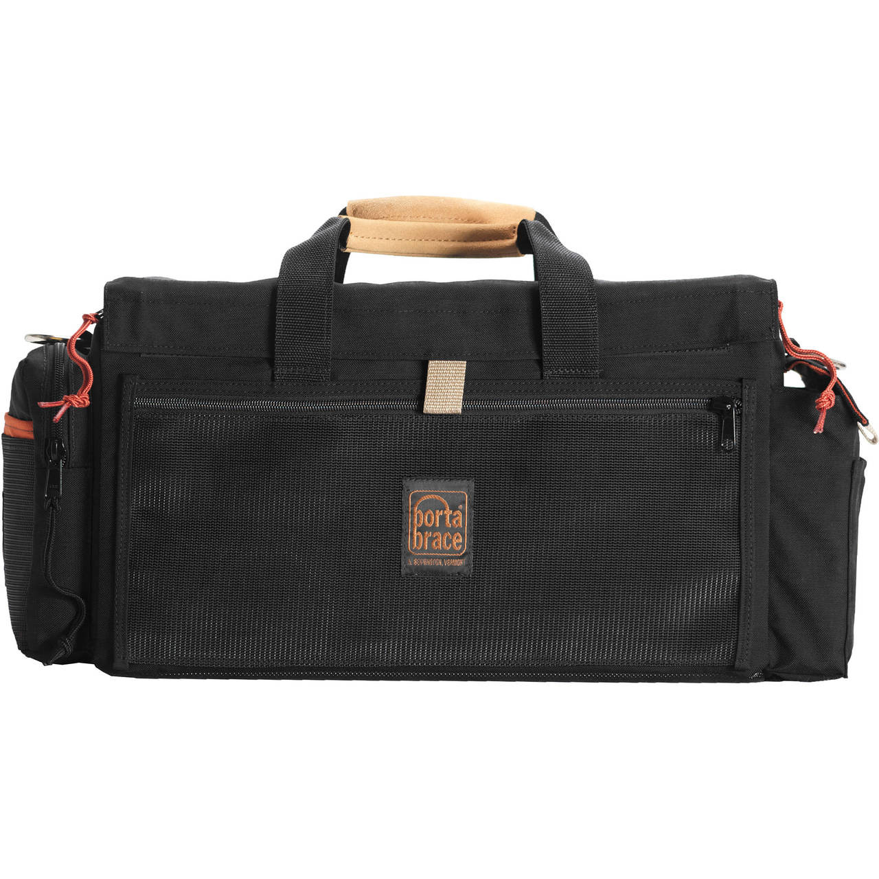 Porta Brace DVO-C100 Custom Case for Canon C100 (Black with Copper Trim)