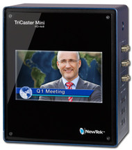 "NewTek TriCaster Mini HD-4 SDI with Built-In 7"" Display"