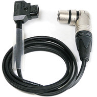 "Anton Bauer Right Angle PowerTap Male to Right Angle 4-Pin XLR Female Cable (36"")"