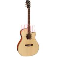 Cort Grand Regal Series Semi Acoustic Guitar GA FF NAT