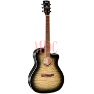 Cort Grand Regal Series Semi Acoustic Guitar GA QF TBB