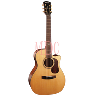 Cort Gold Series Semi Acoustic Guitar with Soft Case Gold A6 NAT