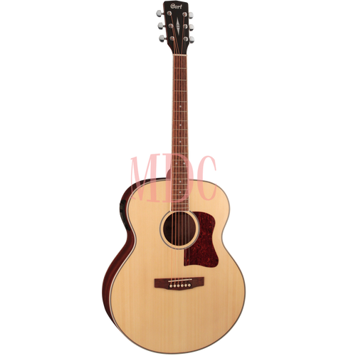 Cort CJ Series Semi Acoustic Guitar CJ MEDX NAT