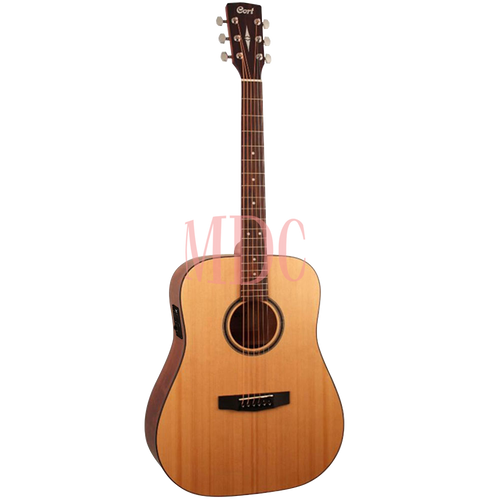 Cort Semi Acoustic Guitar with Solid Top AD850SE OP