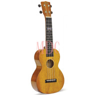 Mahalo Hano Series Concert Wide Neck Vintage Natural W/Bag MH2WVNA