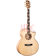 Cort Semi Acoustic W/Case The Puzzle LE NAT