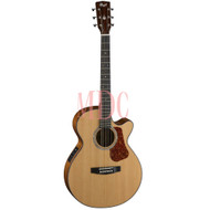 Cort Luce Series Semi Acoustic Guitar L500F - NAT