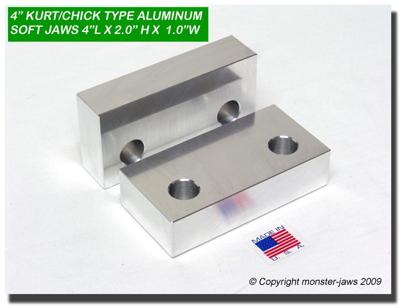 Earl/'s 1004 Aluminum Vise Jaws