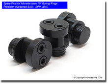 """Spare Pins for MonsterJaws 10"""" Boring Rings (Precision Hardened)"""