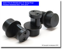 """Spare Pins for MonsterJaws 15"""" Boring Rings (Precision Hardened)"""