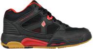 Ektelon Men's NFS Attack Mid Black/Red Racquetball Shoes