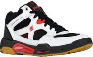 Ektelon Men's NFS Attack Mid White/Black/Red Racquetball Shoes