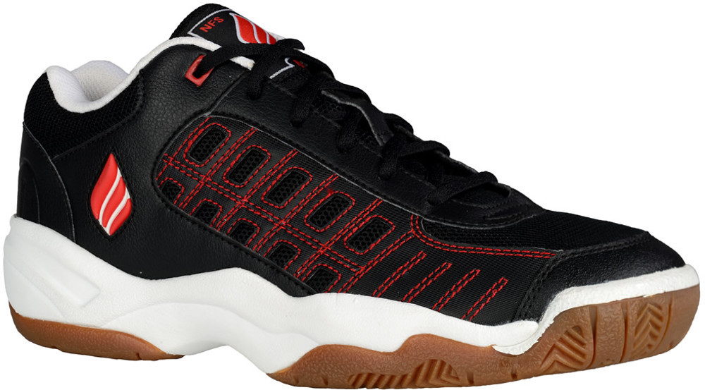 898863579c19 Ektelon Men s NFS Classic II Low Black Red Racquetball Shoes ...