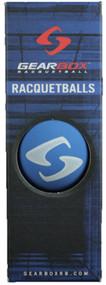 Gearbox Blue Racquetballs 3 Ball Can