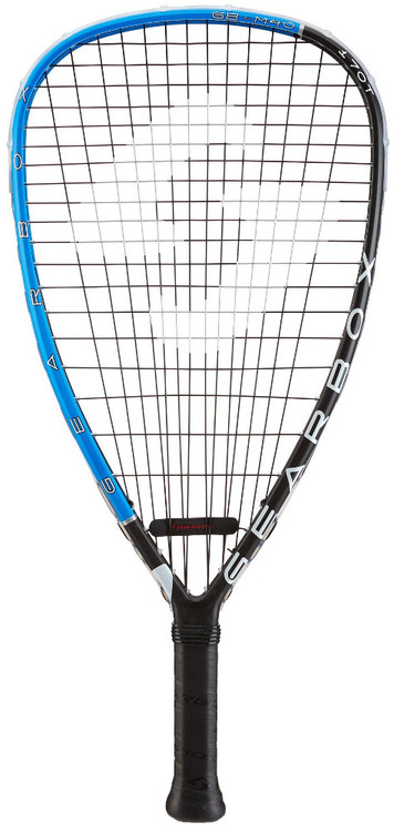 2018 Gearbox M40 170T Blue Racquetball Racquet - Teardrop Shaped Frame at 170 grams
