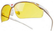 Gearbox Vision Slim Fit Amber Lens Racquetball Eyewear