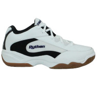 Python Deluxe WIDE (EE WIDTH) Indoor Mid White Racquetball Shoes