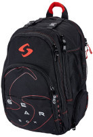 Gearbox 2018 M40 Black/Red Backpack