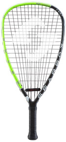 2018 Gearbox M40 165T Green Racquetball Racquet - Teardrop Shaped Frame at 165 grams