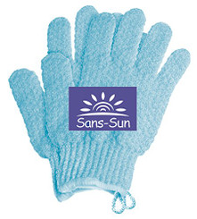 Sans-Sun Soft Exfoliating Gloves | Exfoliating Body, Bath and Shower Gloves