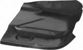 '75-'01 FRONT FLOOR PAN, PASSENGER'S SIDE