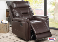 71759 Recliner with Swivel Glider Godiva