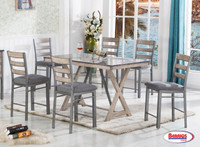 1768 Grey Sammy Counter Height Dining Room